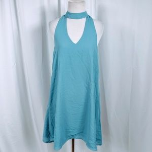 Lulu's Light Blue Sleeveless Dress